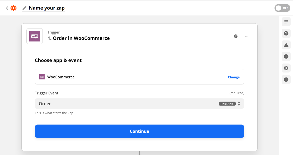 Zapier WooCommerce Order Trigger